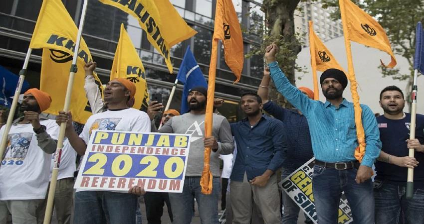 khalistani terrorist pannu  sikh for justice phone calls referendum delhi kmbsnt