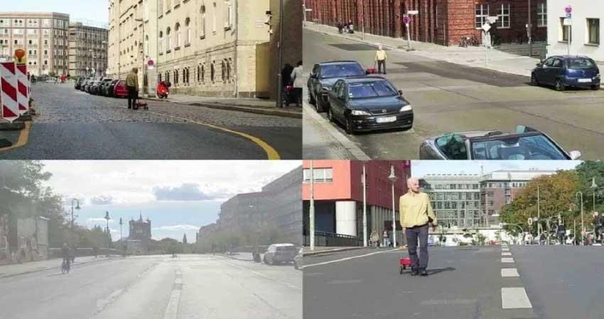 man fool google maps with 99 smartphones
