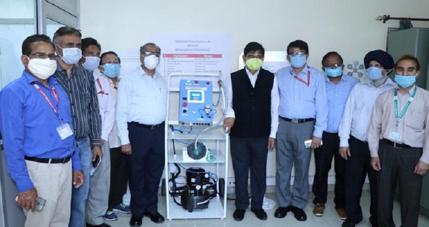 rail coach factory develop ventilator kapurthala emergency prsgnt