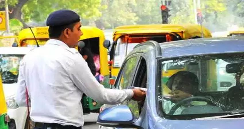 traffic penalty may be reduced, gujarat reduced by 90%