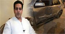 Car Accident में बाल-बाल बचे सांसद राघव लखनपाल, संसद सत्र में शामिल होने आए थे दिल्ली