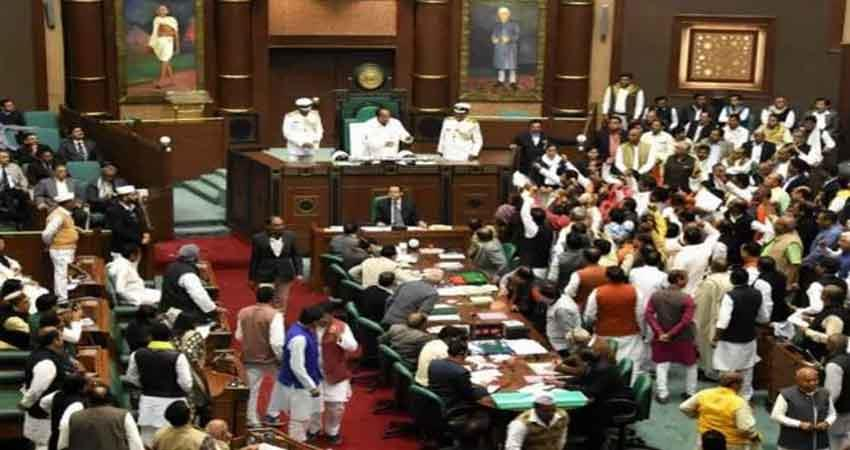 corona saved the kamalnath government assembly adjourned till 26 march