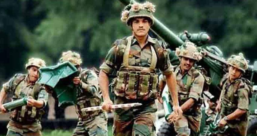 bumper recruits in india army also do not give this opportunity to know by hand anjsnt