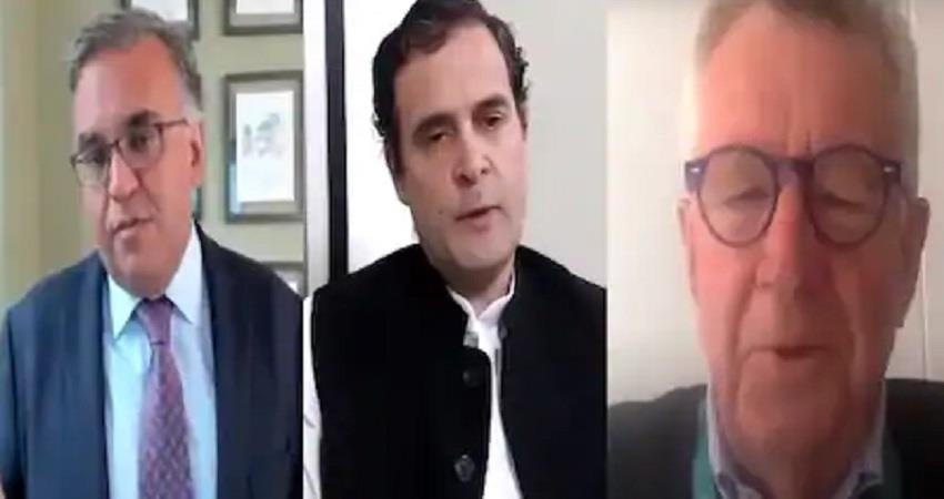 congress rahul gandhi talks with prof ashish jha about covid19 vaccine pragnt