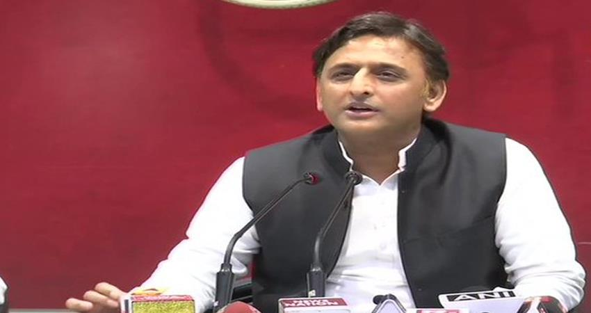 Akhilesh Yadav canceled his visit to Rampur targeted Congress BJP act 144 applied