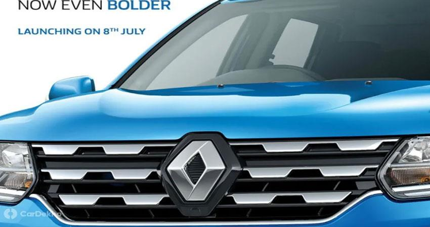 reno duster facelift launch will soon