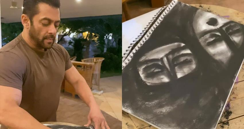 salman khan feels embarrased yet delighted for his art exhibition sosnnt