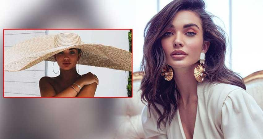 amy jackson having gender reveal party