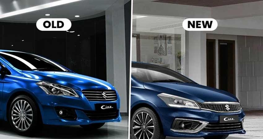 know-the-difference-between-new-and-old-maruti-ciaz