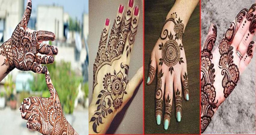 latest new mehndi designs eid ul fitr 2020 pragnt