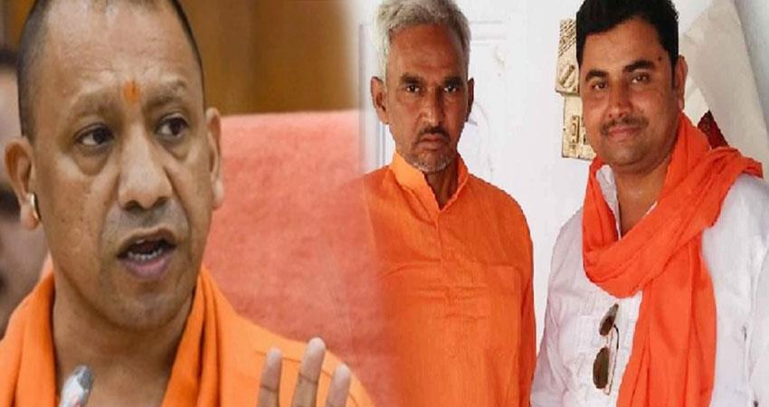 yogi government suspends sdm co ballia firing  pragnt