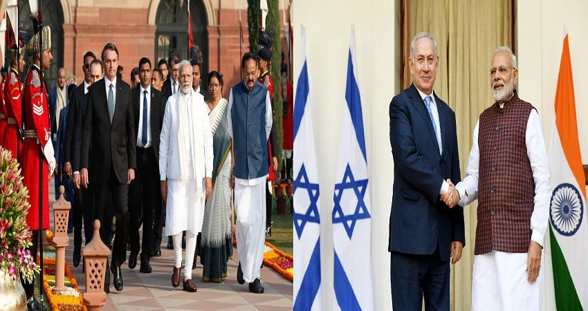 india pm narendra modi helps israel and brazil hydroxychloroquine coronavirus pragnt