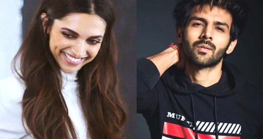 deepika padukone wants kartik aaryan to trim his beard SOSNNT