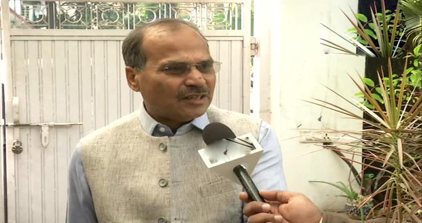 congress adhir ranjan chowdhury said physically kashmir is with us but not emotionally