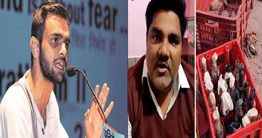 omar khalid questioned for 6 hours by crime branch in delhi riot case kmbsnt