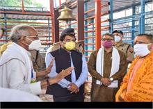 अयोध्या पहुंच CM योगी ने किए रामलला के दर्शन, मंदिर निर्माण का जायजा लिया
