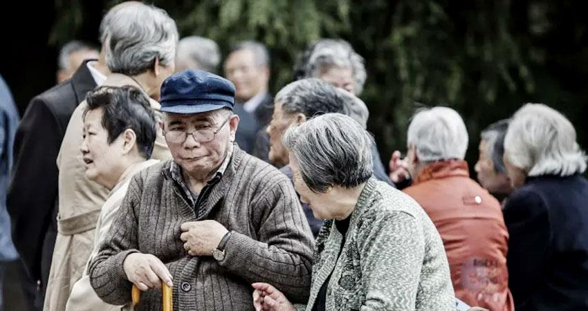 the biggest challenge for china from covid19 is the growing elderly population aljwnt