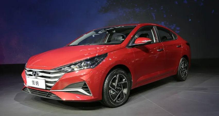 hyundai verna facelift may be launched in the indian market by the end of the year