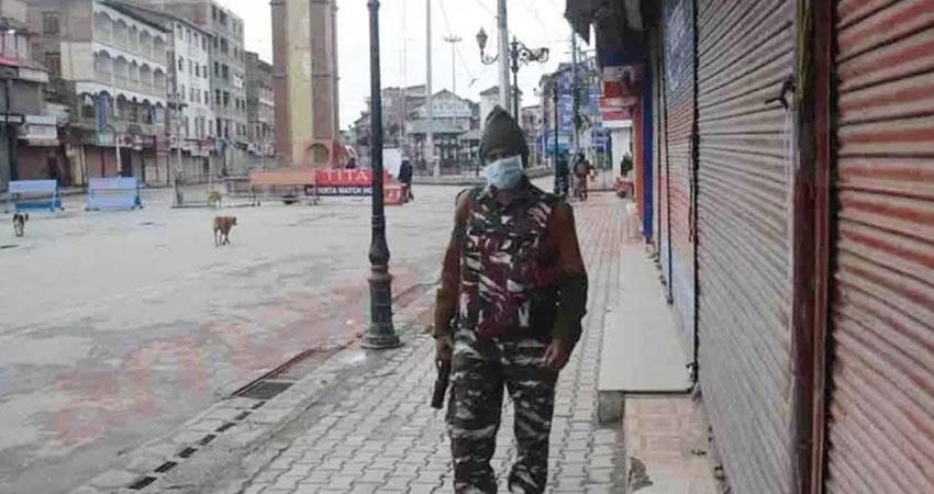 namaz ban on mosques in kashmir 4 infected cases in the valley so far prshnt