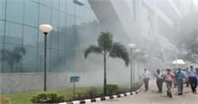 सीबीआई बिल्डिंग के बेसमेंट में शॉर्ट सर्किट से लगी आग
