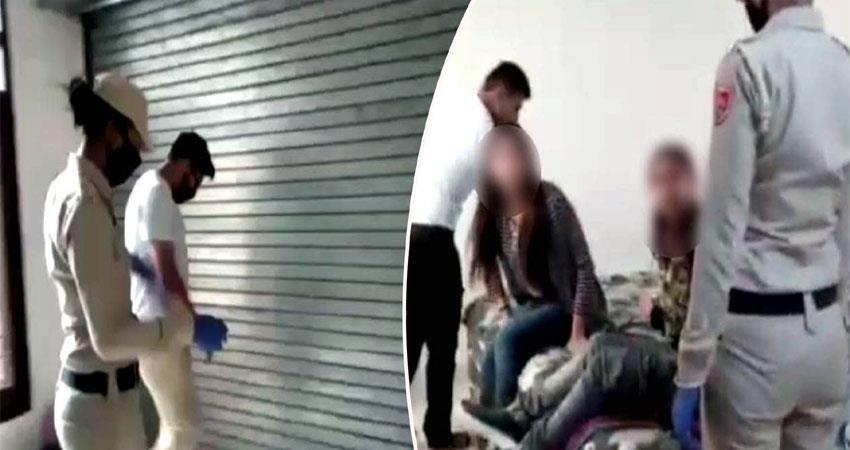punjab police raided sex racket anjsnt