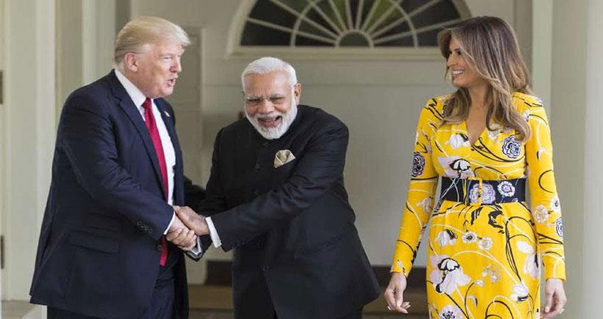 indo- pak resolved issues: donald trump
