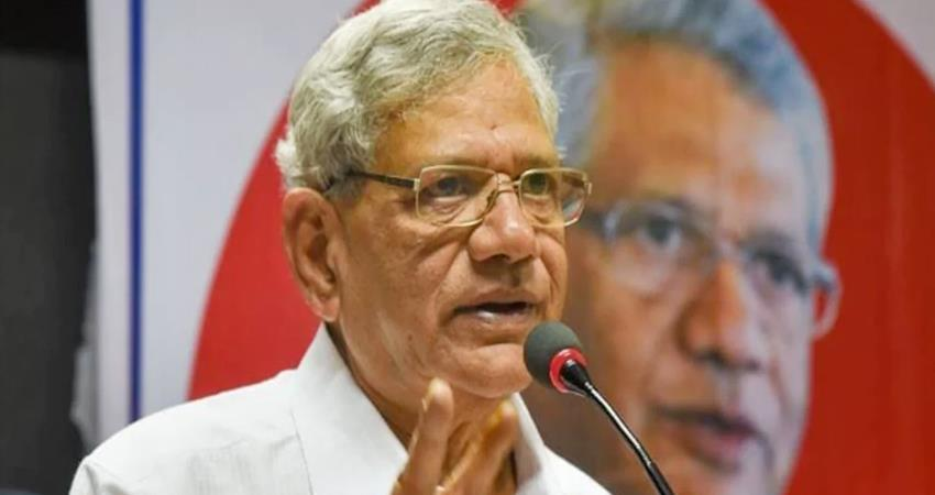 cpm leader yechury if you want to defeat the bjp distance from the tmc is necessary prshnt