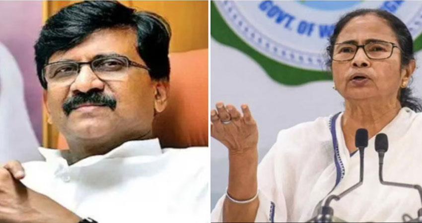 sanjay raut furious over banning mamata from campaigning anjsnt