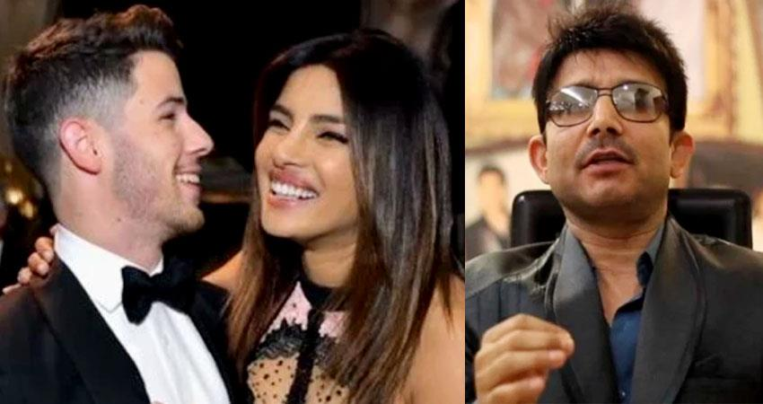 krk predicts priyanka nick divorce and saif kareena sons career aljwnt