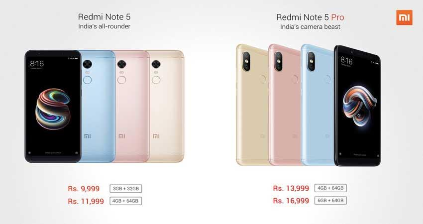 redmi-note-5-and-note-5-pro-sale-today