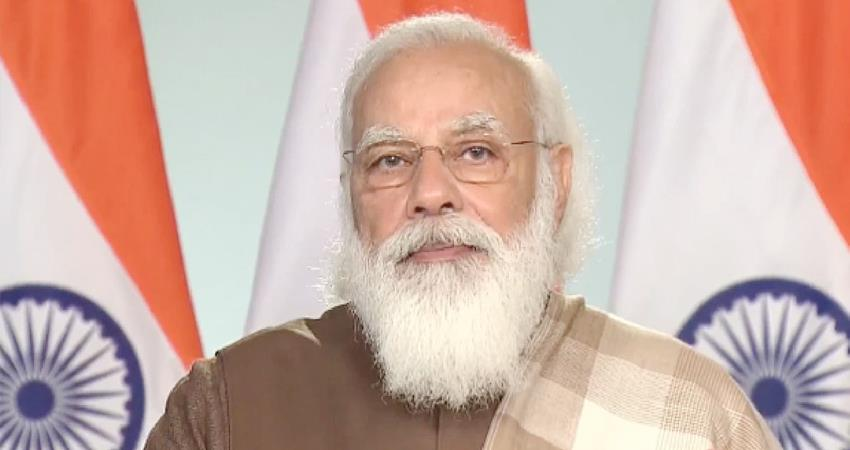 PM Modi said video conference virus is still present possibility of changing the form prshnt