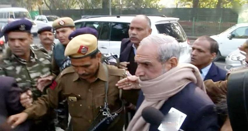congress sajjan kumar has moved supreme court seeking bail 1984 anti sikh riots case