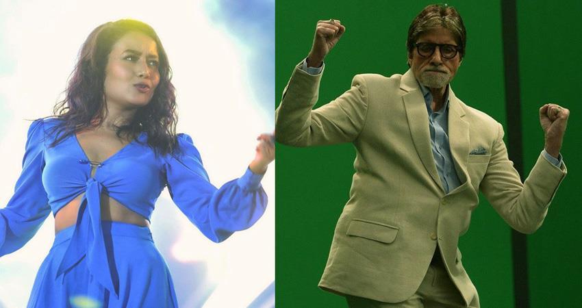 amitabh bachchan and neha kakkar in forbes top 100 digital stars sosnnt