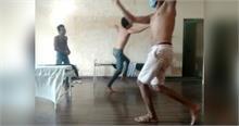 एक बार फिर Quarantine सेंटर में हुआ डांस, video हुआ वायरल
