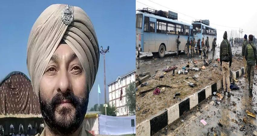 pulwama terrorists attack  dsp davinder singh