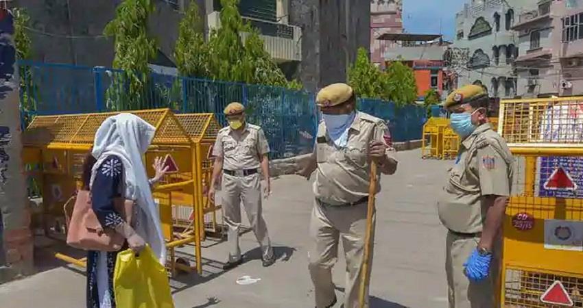 coronavirus spread 14 areas of delhi announced containment zone kmbsnt
