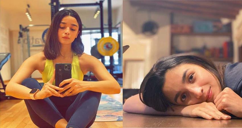 alia bhatt cuts her hair in lockdown sosnnt