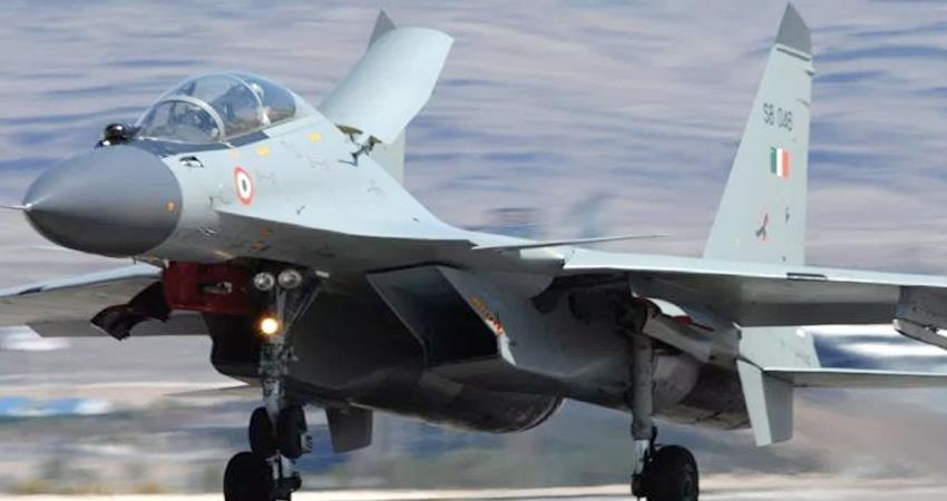 India and France Air Force ready for maneuvers at Jodhpur airbase prshnt