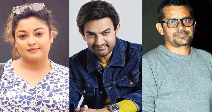 tanushree dutta scold amir khan for doing film of subhash kapoor