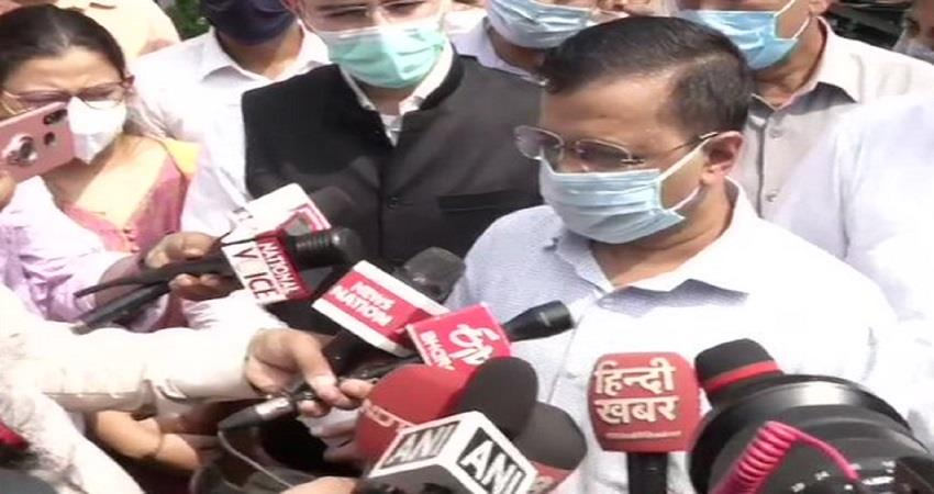 stubble disposal scientifically delhi cm kejriwal kmbsnt