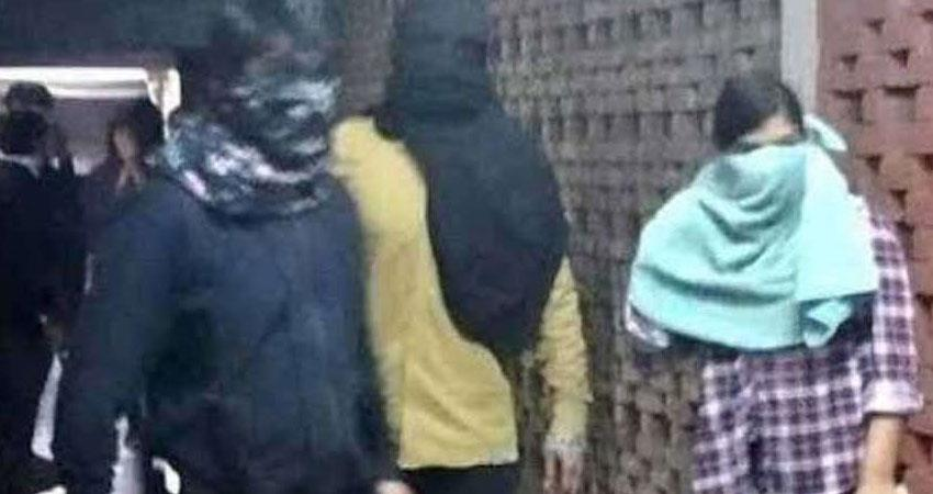 jnu attack komal sharma pleads ncw after delhi police active probe abvp bjp rss