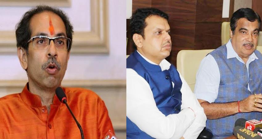 cm uddhav thackeray praises fadnavis gadkari credit for development