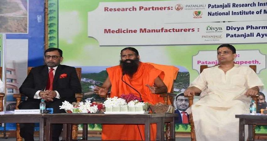 patanjali ayurved acharya balkrishna u turn on coronil coronavirus medicine kmbsnt