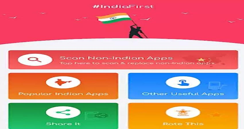 indian replace it app will eliminate chinese apps know its specialty sohsnt
