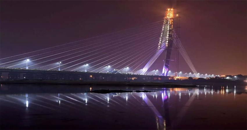 signature bridge delhi government tourist destination