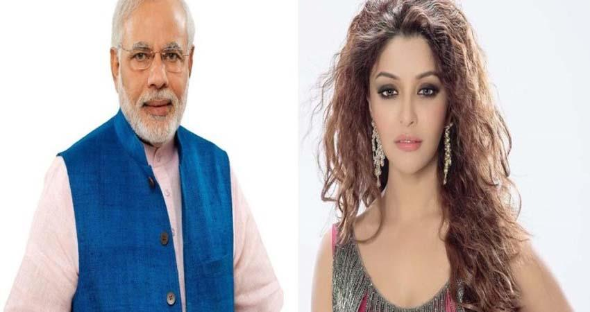 payal ghosh who accused anurag kashyap of rape tweeted to prime minister jsrwnt