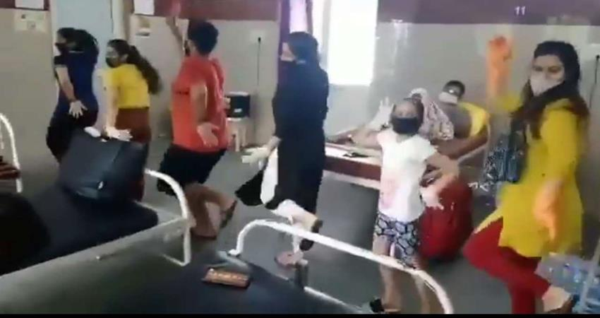 a family dance on sushant song after tested corona negative sosnnt