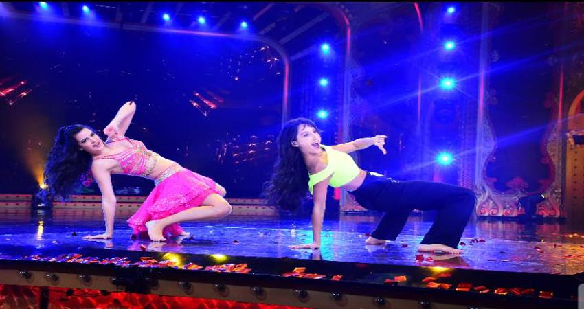 Natasha Stankoviok and Nora Fatehi rocked the sets of Nach Baliye season 9