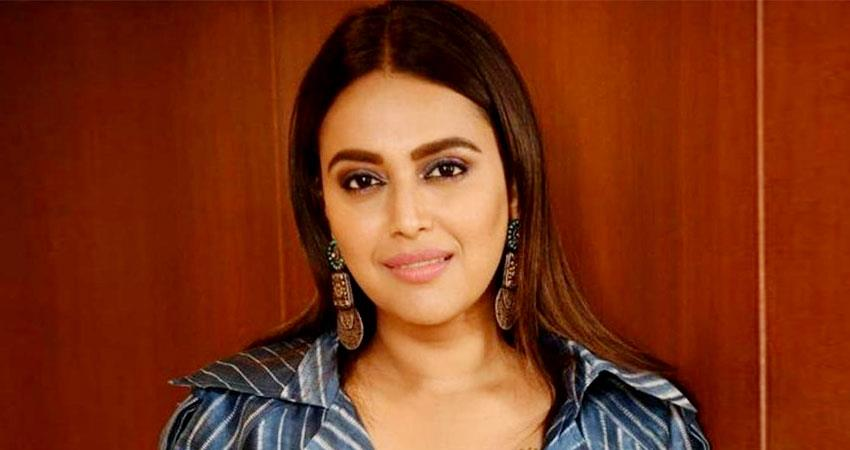 Swara Bhaskar travels from Mumbai to Delhi during lockdown sosnnt
