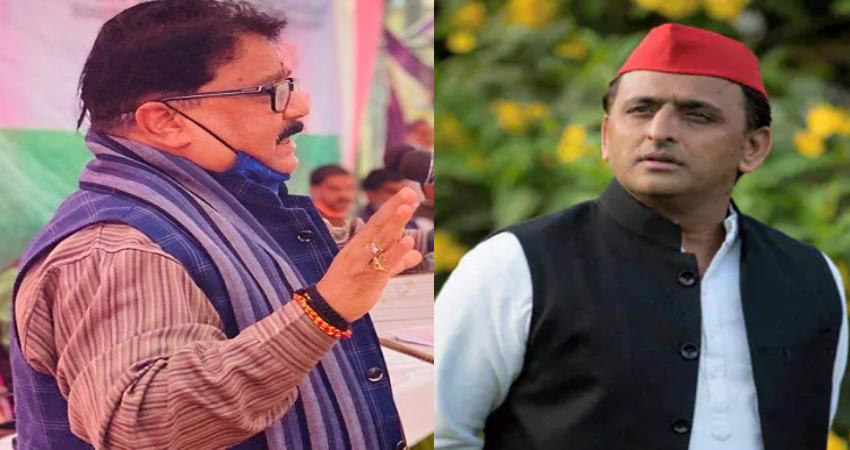 bjp asked akhilesh yadav administrators appointed on panchayats in your time pragnt